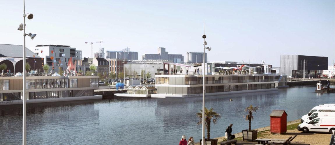 Barges & Berges, lauréat du concours Réinventer la Seine !
