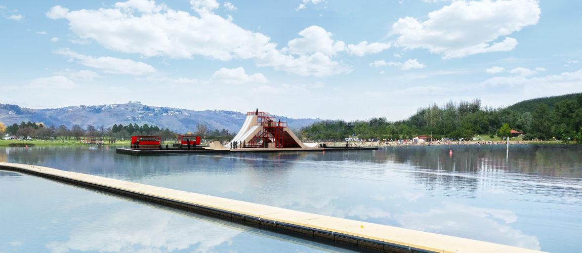 Waterjump flottant – Vienne Condrieu
